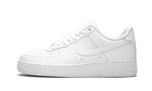 "Nike Air Force 1 07 ""White on White"""