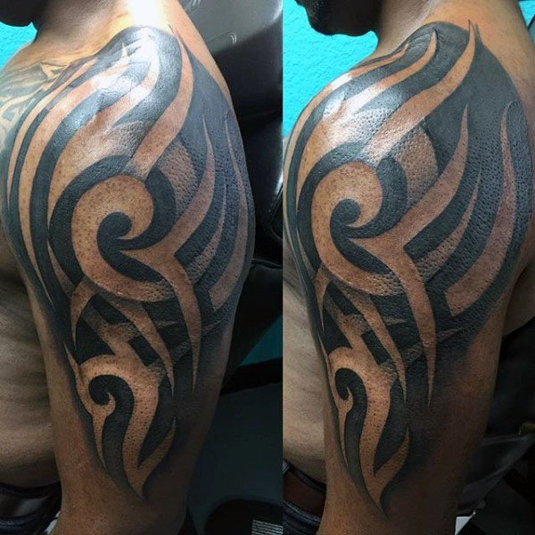 101 Tribal Arm Tattoo Ideas For Men Incl Chest And Back Outsons