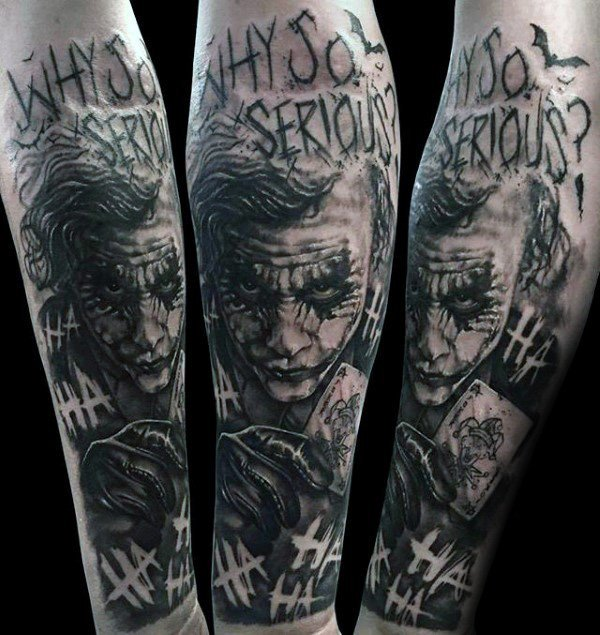 The Joker Forearm Sleeve