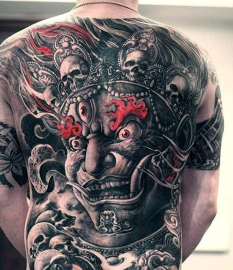Demon Devil Evil And Satanic Tattoo Designs For Men Outsons