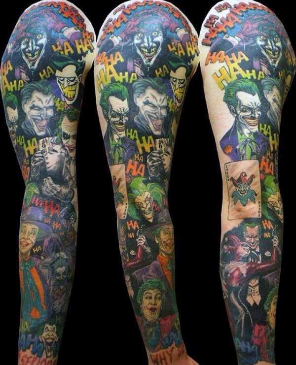The Joker Themed Sleeve