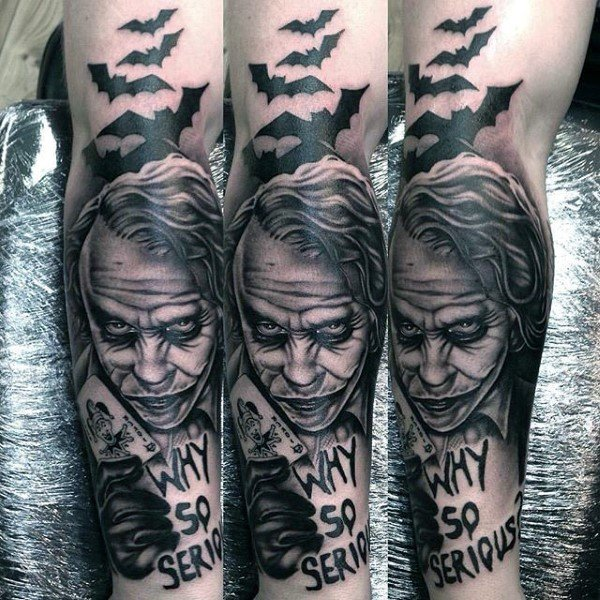 Why So Serious Full Sleeve