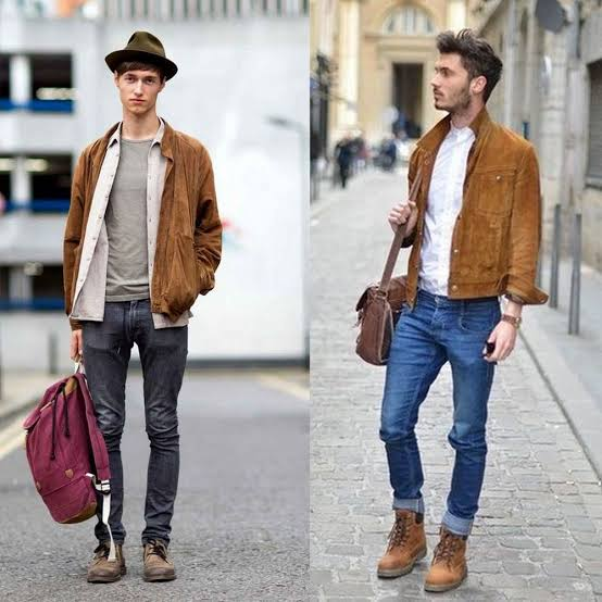 Men's Outfits with Skinny