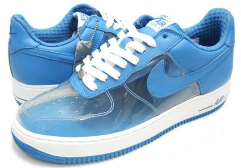 Clear & Invisible Nike Air Force One – All you Need to Know ...