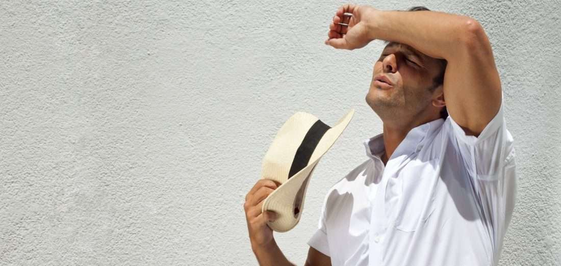 how to stop sweating in the summer