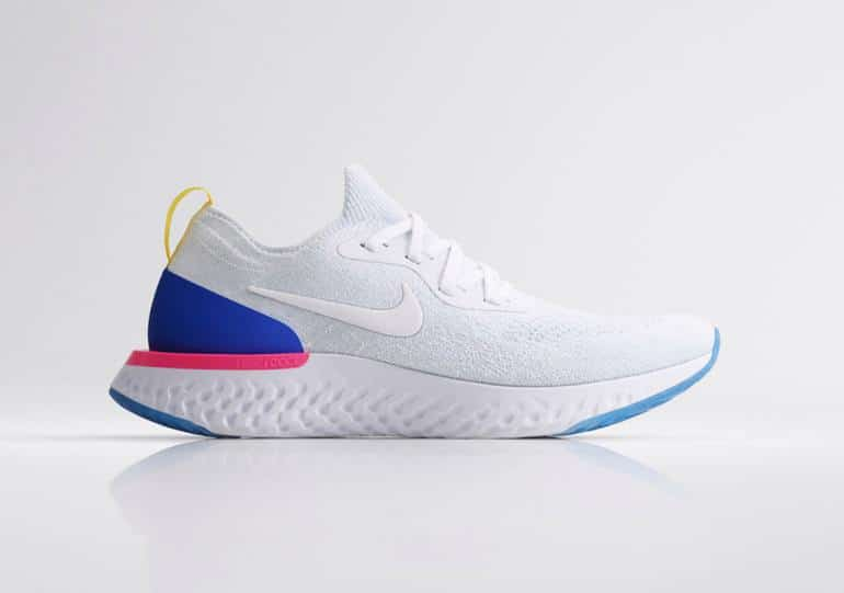 nike epic react side on